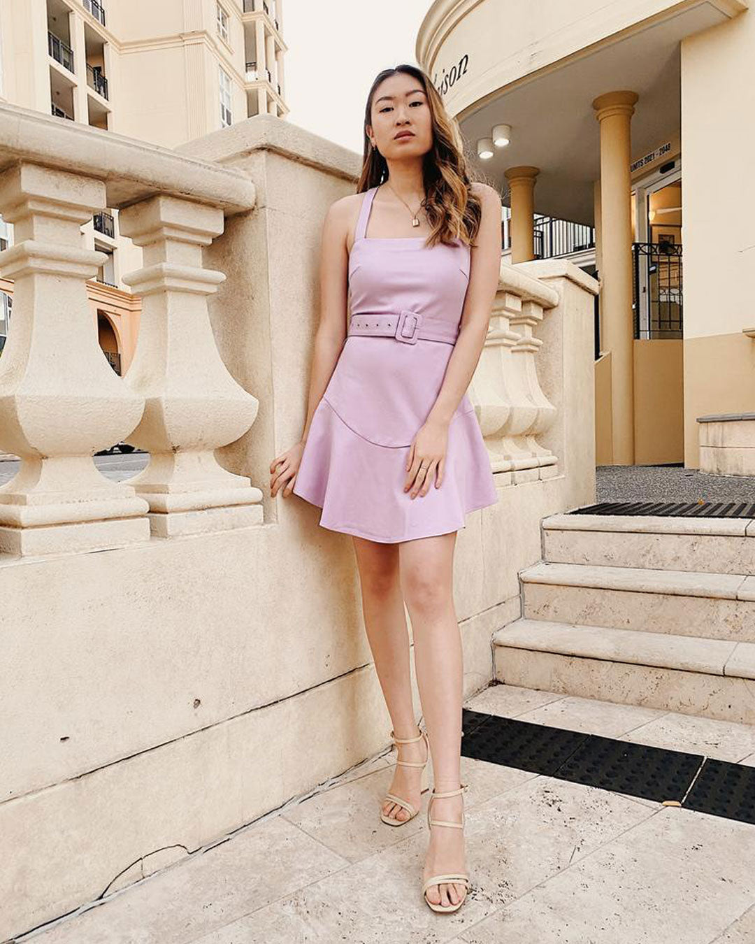 Twosisters The Label Rachel Dress Lilac