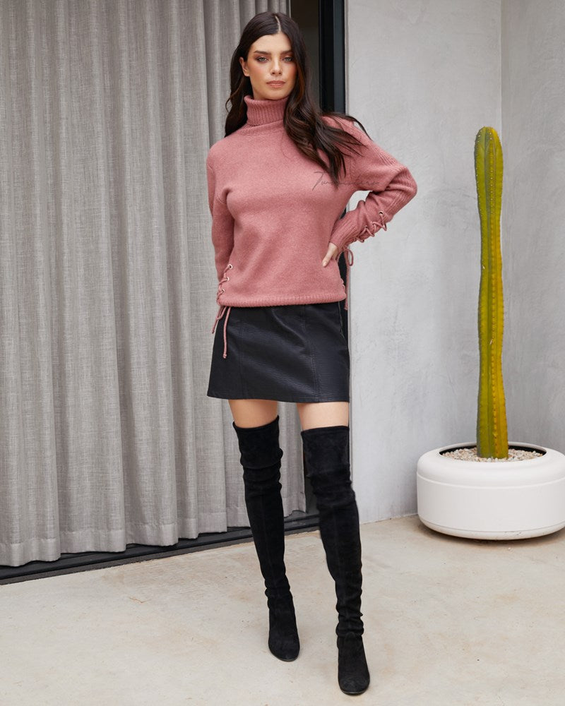 Twosisters The Label Serafina Knit Mauve