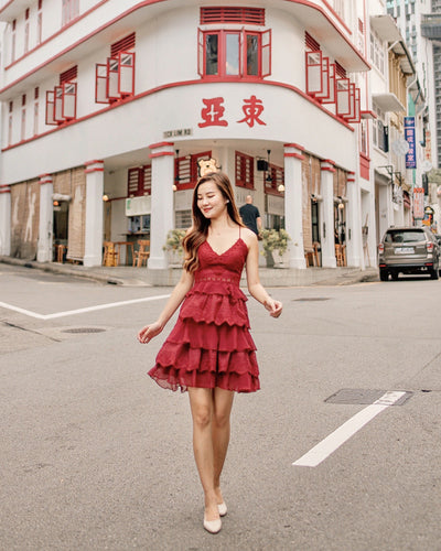 Shelby Dress - Red