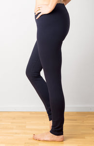 Plain Midnight Blue Leggings- yoga pants