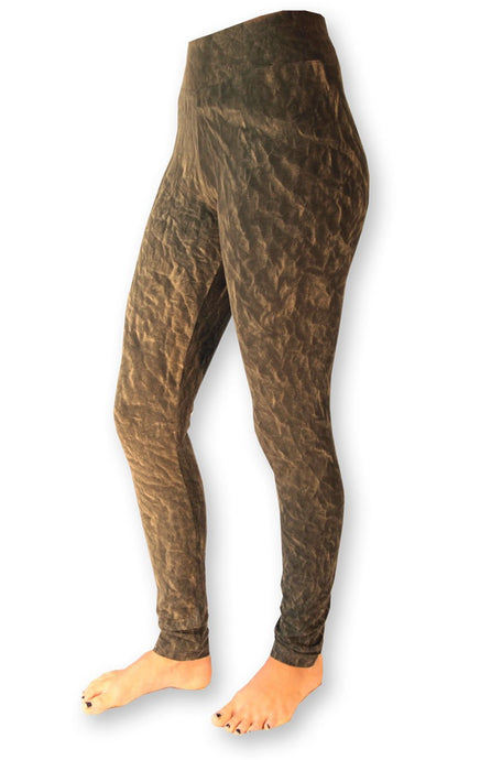 ECO 3D Gold Tie Dye Leggings