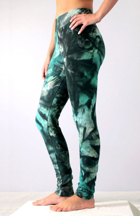 Atlantic Smoke Tie Dye Leggings