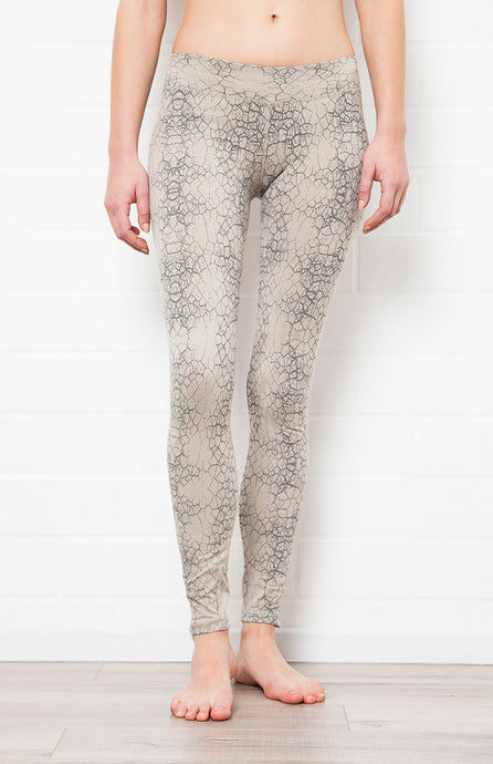 F.S Grey Cactus Leggings - Yoga Tights