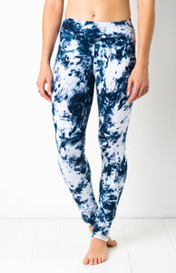 Midnite Smoke Tie Dye Leggings- yoga pants