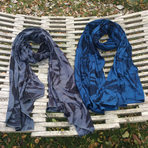 Midnight Star soft rayon jersey scarf