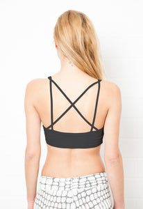 Cross Back Crop Bra
