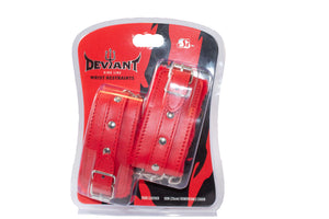 Si-95193 RISQUE WRIST RESTRAINTS - RED