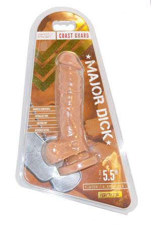 Si-20716 MAJOR DICK- COAST GUARD- CARAMEL