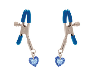 Si-60200 MY HEART WILL GO ON I'LL NEVER LET GO NIPPLE CLAMPS