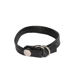 Si-95067 CINCH COCK RING W/ SNAP & PULL STRAP