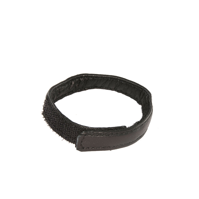 Si-95079 BLACK VELCRO LEATHER COCK RING