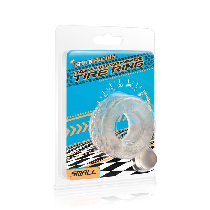 Si-95123 HIGH PERFORMANCE TIRE RING - SMOKE SMALL