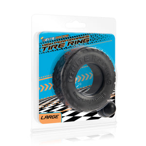 Si-95126 HIGH PERFORMANCE TIRE RING - BLACK LARGE