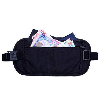 Travel Waist Belt Money Wallet