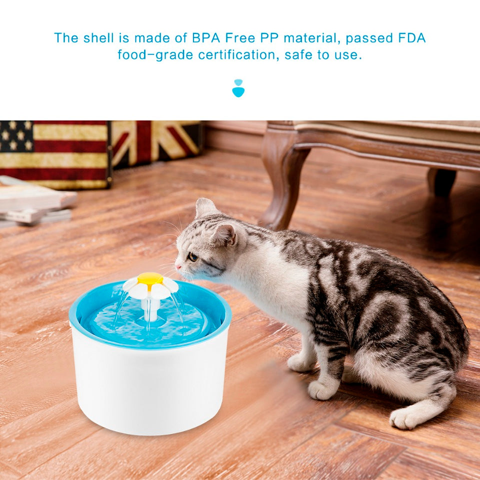 Pets Electric Water Fountain