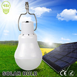 Solar Powered 15W LED Bulb Lamp
