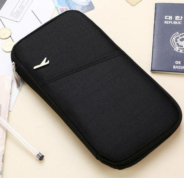 Portable Travel Wallet