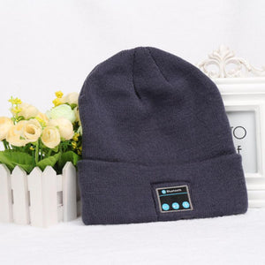 Wireless Bluetooth Headphones Music Hat