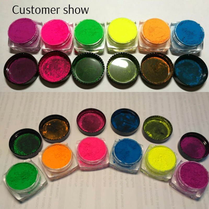 6 Colors Dip Powder Nail Art
