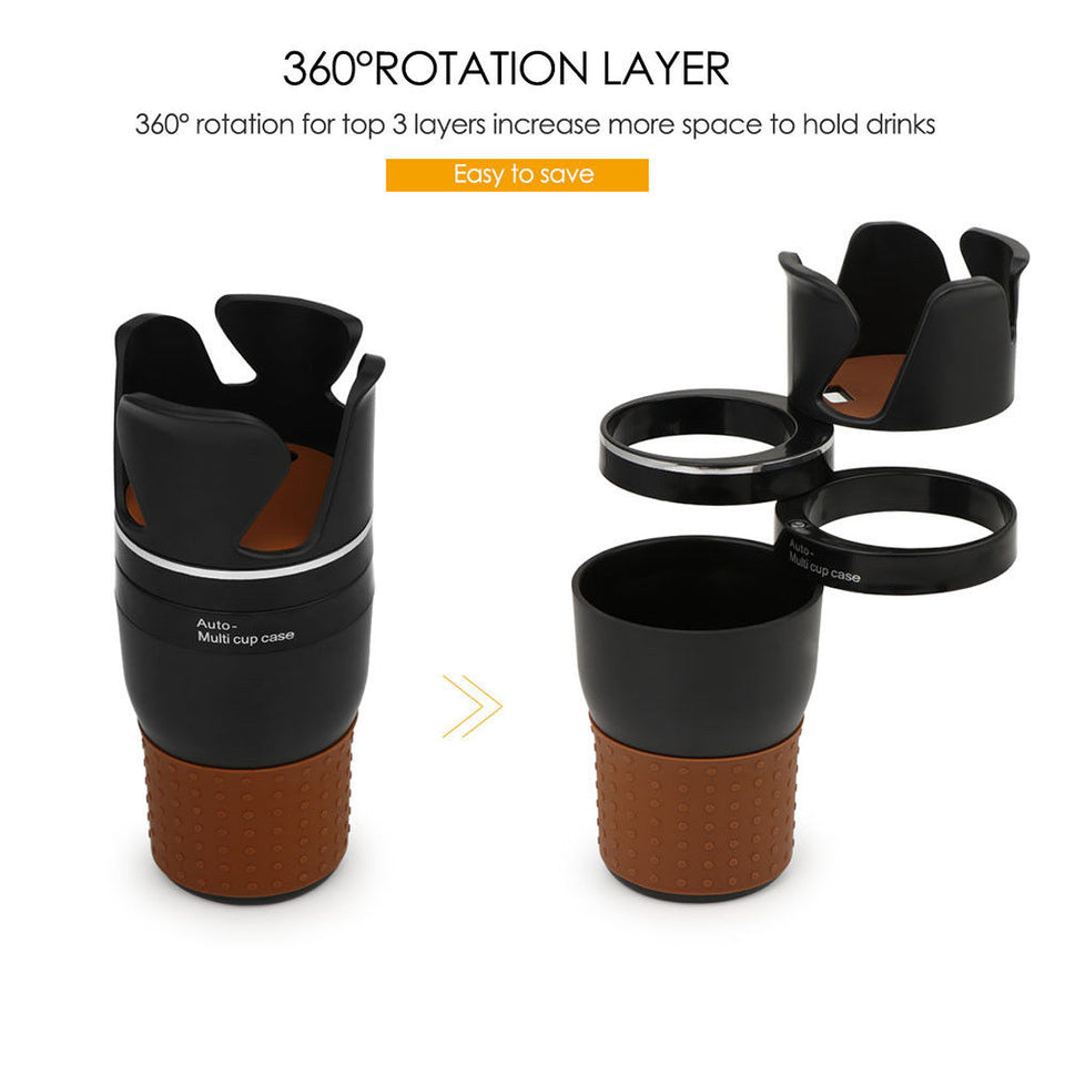 3 Layers Car Stack Rotatable Organizer