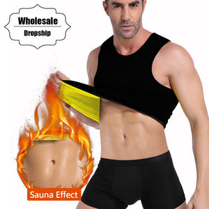 Men – Sauna Slimming Waist Trainer Vest