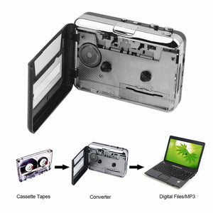 Cassette To MP3 Portable Music Convertor