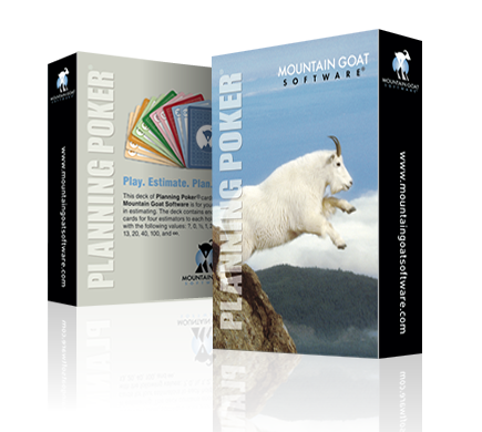Mountain Goat Software offers Planning Poker® cards