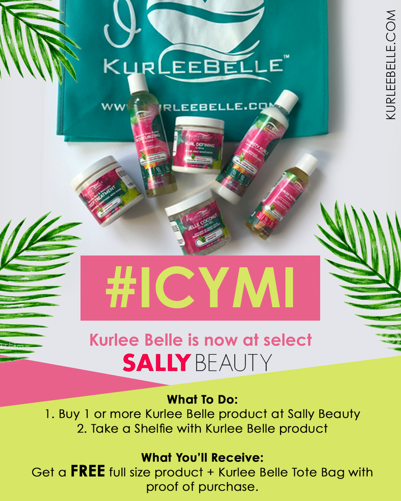 #ICYMI: FREE Kurlee Belle Product with Sally Beauty Purchase