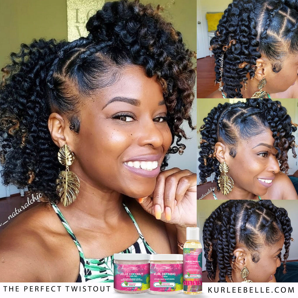 6 Steps to the Perfect Twist Out