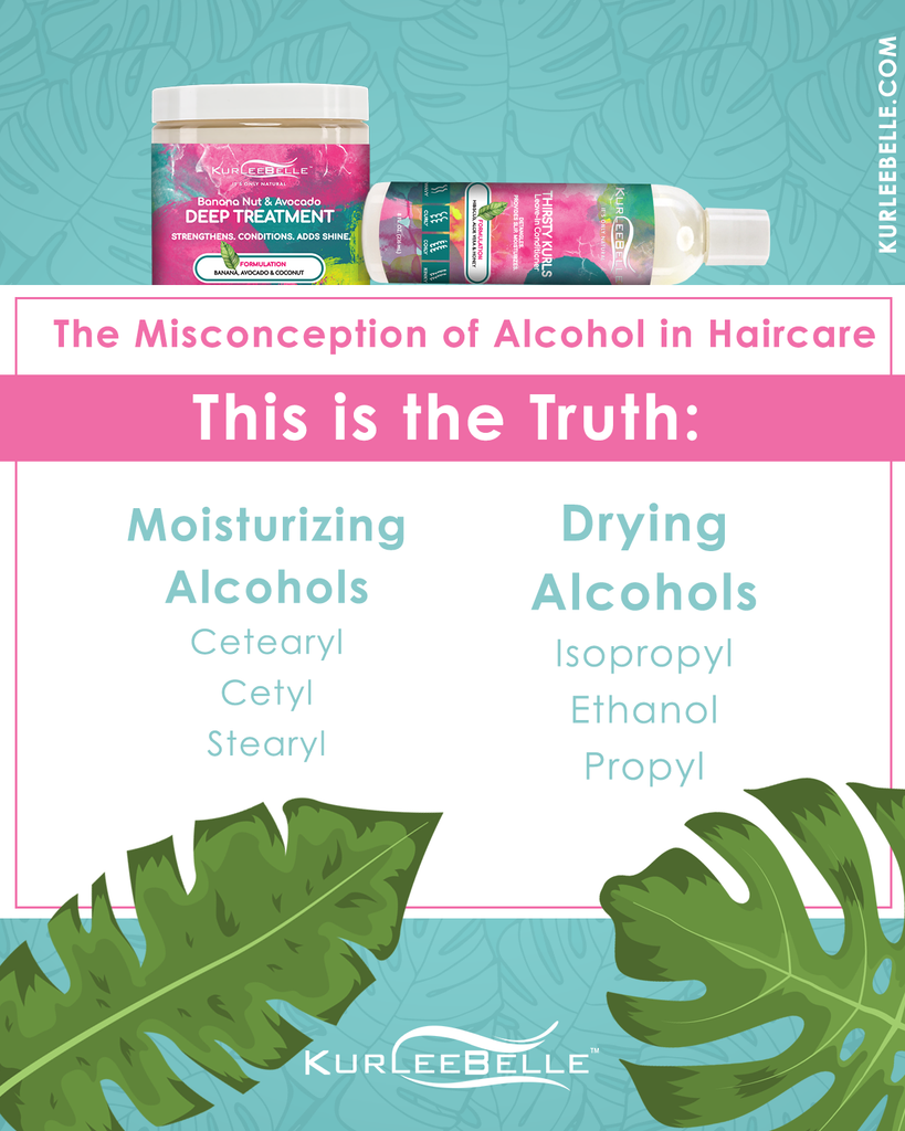 The Misconception of Alcohol in Hair Care
