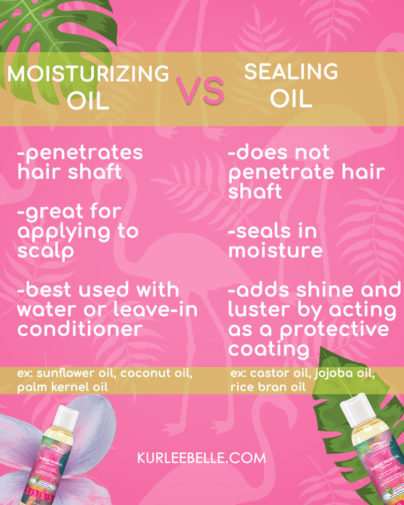 What You Need to Know Now: Moisturizing Oil vs. Sealing Oil