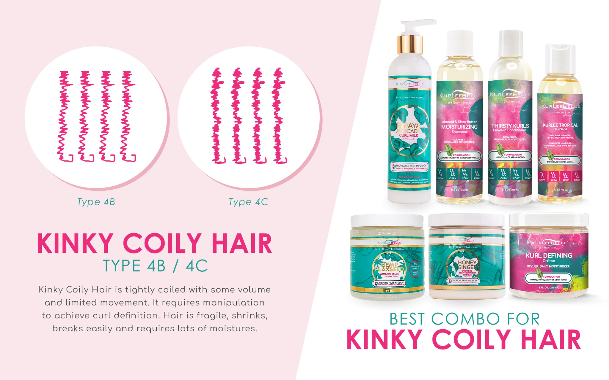 Kinky Coily Hair Best Combo