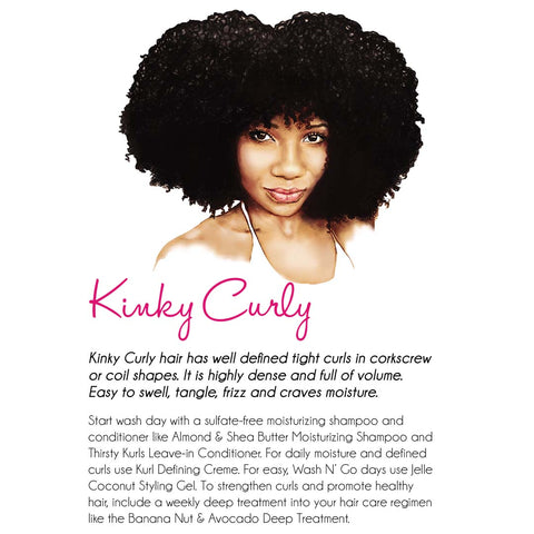 Kinky Curly Hair Kurlee Belle