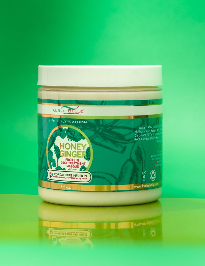 Honey Ginger Protein Deep Conditioning Treatment Masque