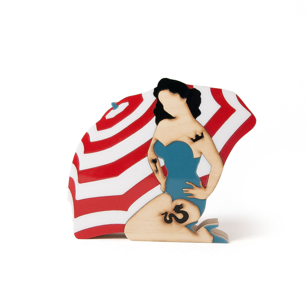 Figura Pin Up Gina