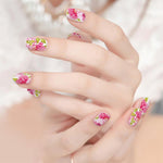 Flawless fabulous nail stickers (14 pieces in a set)