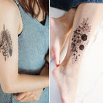Natural Herbal Temporary Tattoo Kit With Free Templates