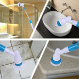 Powerful Multi Functional Spin Cleaning Scrubber Brush