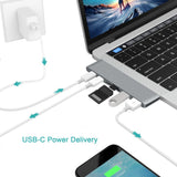6 in 1 Macbook Pro Hub Combo Card Reader