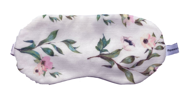 Floral Silk eye mask