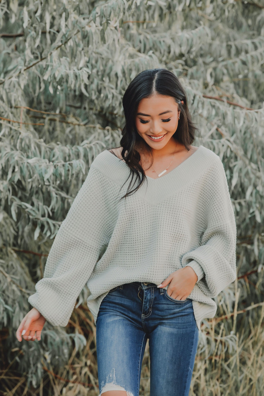 Mellow Mornings Sweater // Sage