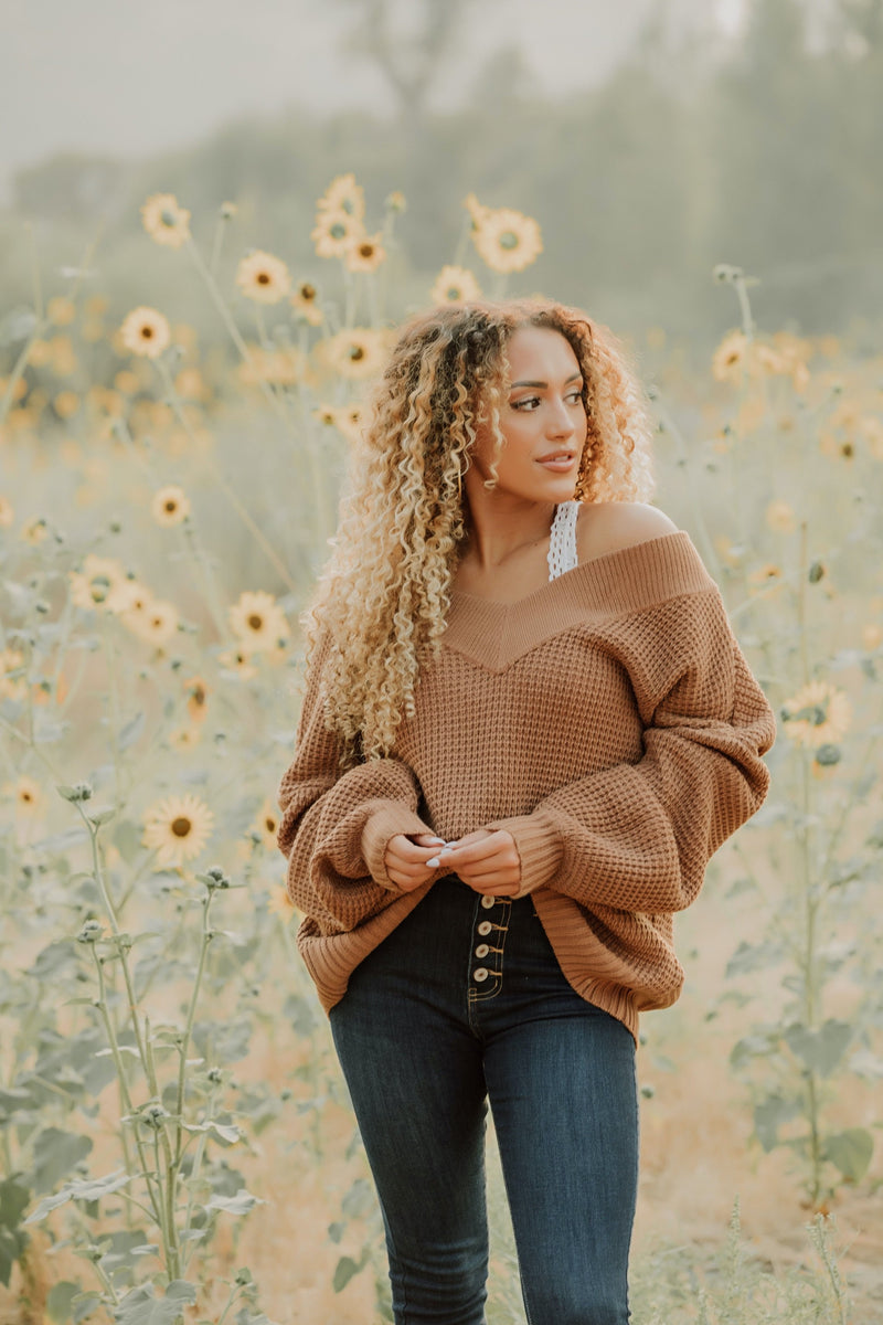 Mellow Mornings Sweater // Mocha
