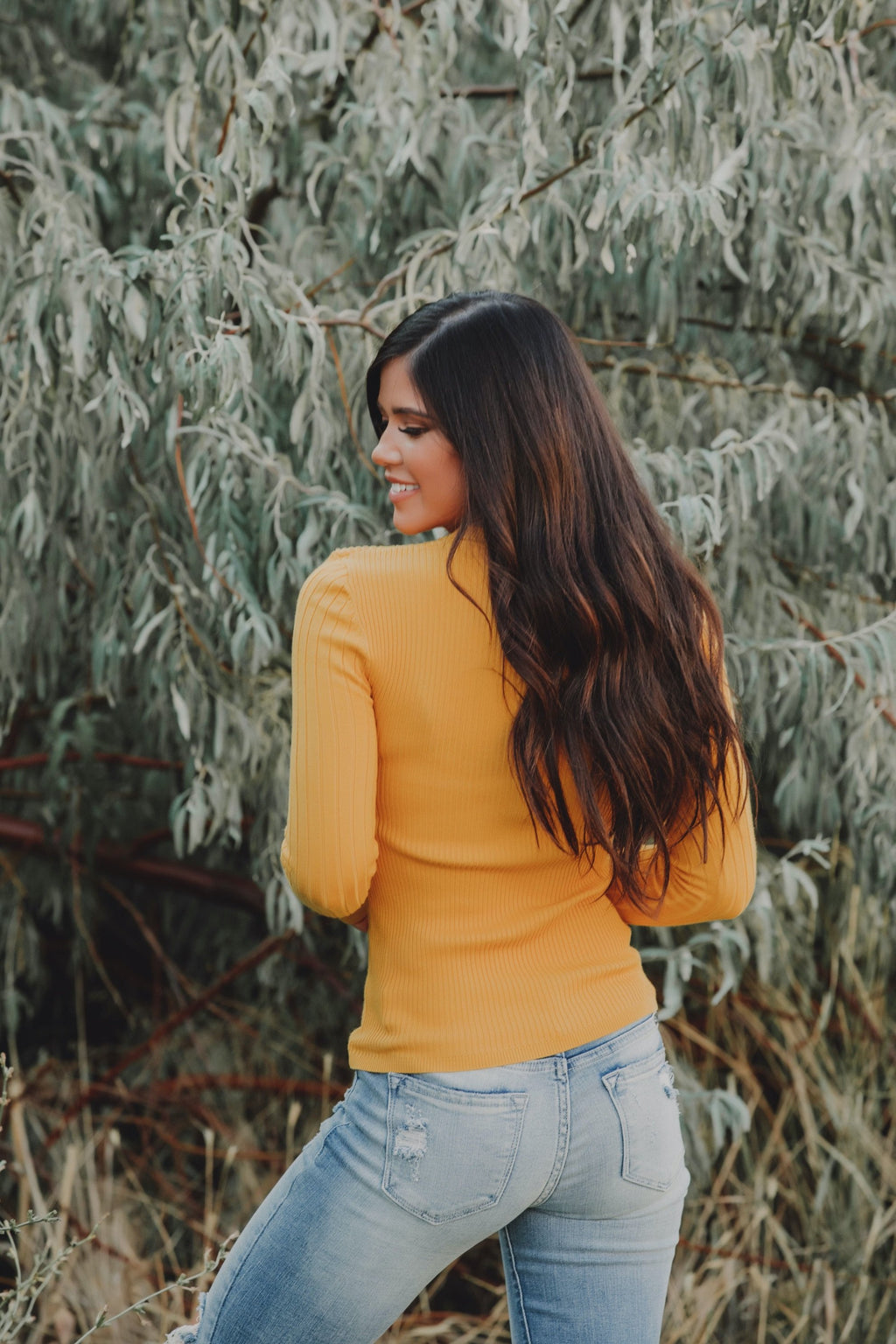 East Side Sweater // Mustard