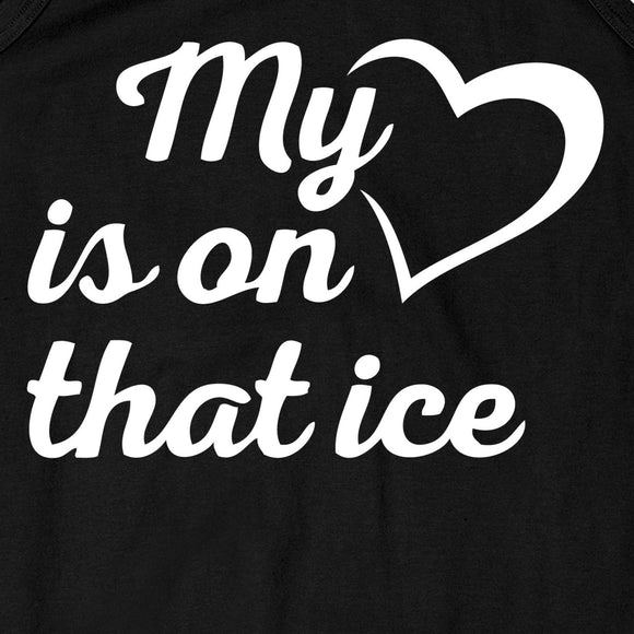 My Heart is on that Ice-Unisex