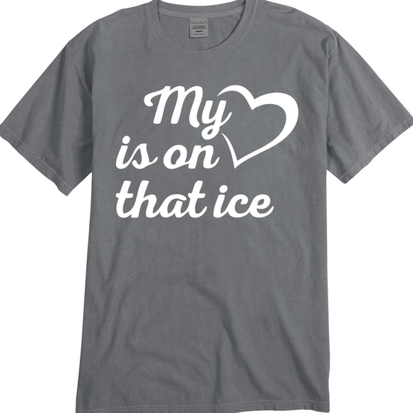 My Heart is on that ice-Unisex Fit