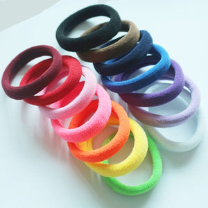 5Pcs Hair Ring Elastic Rubber Bands -Women Hair Accessories - shoppingridge