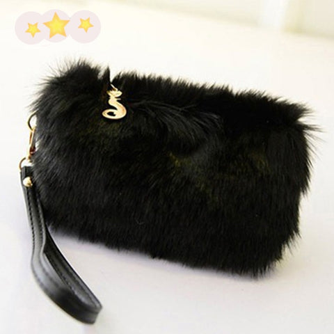 High Quality Women's Zipper Handbags/Clutches
