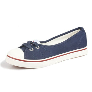 Women's Breathable Ballet Flats/ Loafers -Vulcanize Shoes - shoppingridge