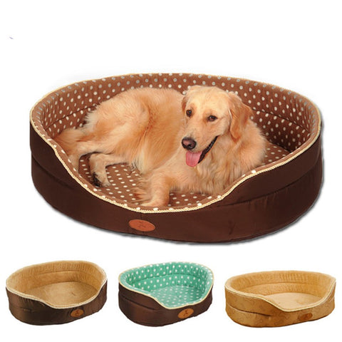 Two Sides Convertible Soft Sofa Warm Bed for Your Pet