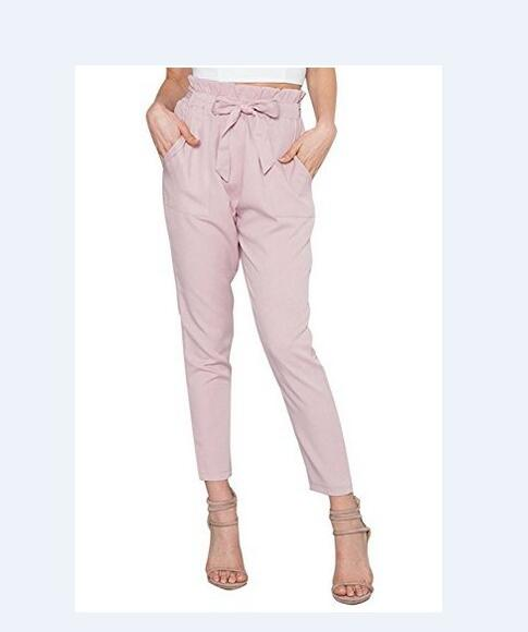 Branded High Elastic Waist Harem Pants For Ladies - shoppingridge
